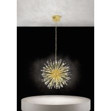 Vivaldo 21 Light Pendant Gold