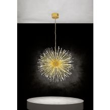 Vivaldo 1 32 Light Pendant Gold