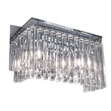 Pisces 2 Light Crystal Wall Light