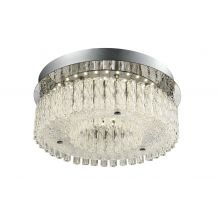 Sculptor Medium LED Crystal Ceiling Light