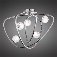 Lux Ceiling 5 Light G9 Polished Chrome