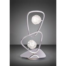 Lux Table Lamp 2 Light G9 Polished Chrome