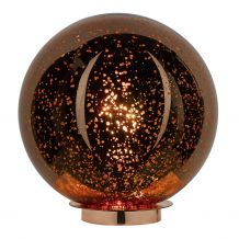 Speckle Table Lamp Speckled Copper Glass Ball