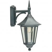 Valencia Down Lantern Black