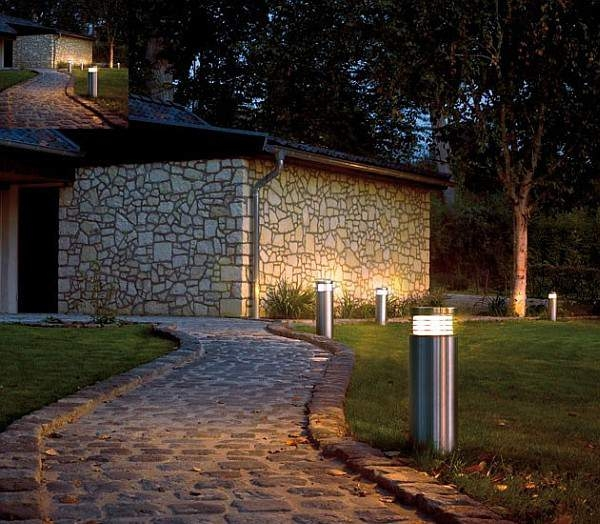 Garden Bollards are available in a range of height options