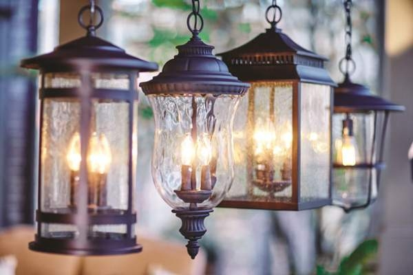 Outdoor lanterns are available in a range of designs